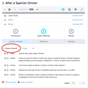 What kind of Spanish do you learn with Spanish Pod 101?