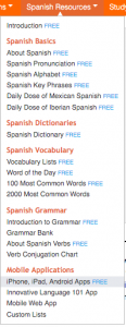 On what devices can you use Spanish Pod 101