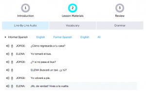 Can I find Spanish reading material at SpanishPod101? Review